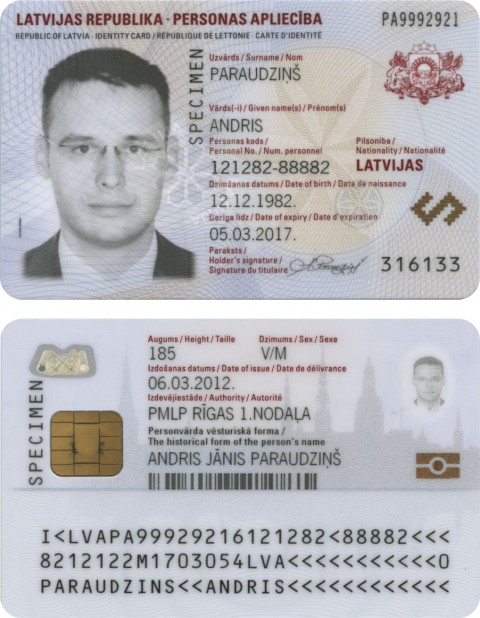 Card Vote Holders Saeima Eligible Id Elections Latvia eu In To